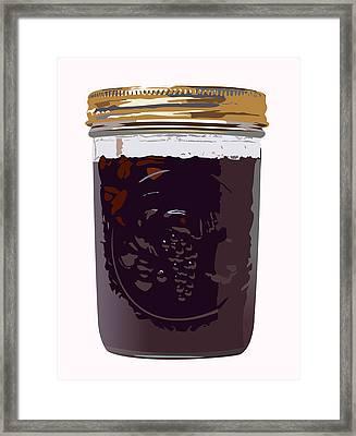 Canned Cherries Framed Print by Robert Bissett