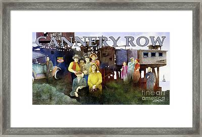 Cannery Row Framed Print by Will Bullas