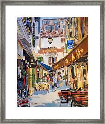 Cannes Framed Print