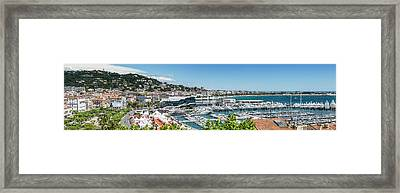 Cannes Croisette - Panoramic Framed Print