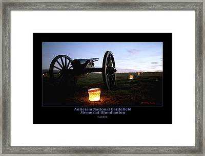Cannon 90 Framed Print by Judi Quelland