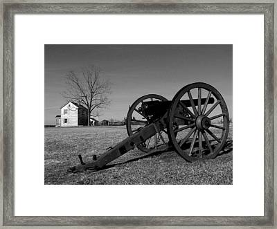 Cannon And The Henry House I Framed Print by Steven Ainsworth