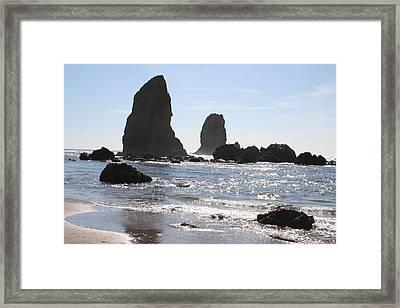 Cannon Beach II Framed Print