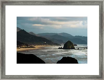 Cannon Beach, Oregon Framed Print