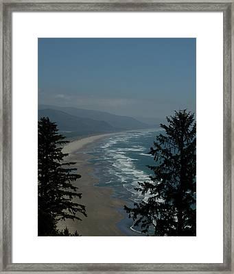 Cannon Beach Vista Framed Print