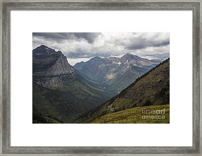 Cannon Mountain And Heaven's Peak Framed Print