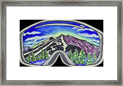 Cannon Mountain Framed Print