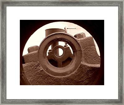 Cannon Parts Framed Print