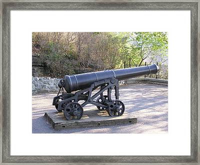 Cannon Framed Print by Richard Mitchell