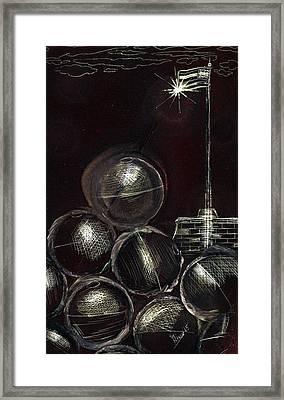 Cannonball Framed Print by Jason Girard