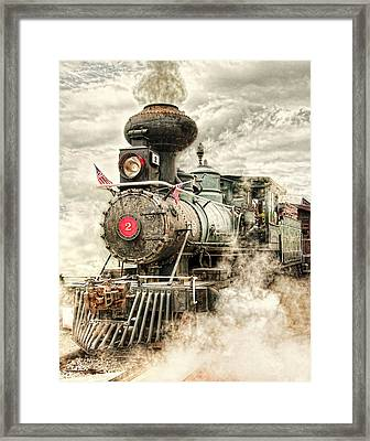 Cannonball Framed Print