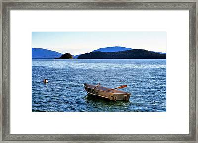 Canoe Framed Print