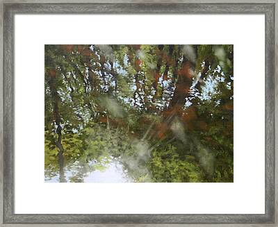 Canoe Painting 8 Framed Print by Jason Sawtelle