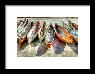 Paddler Framed Prints