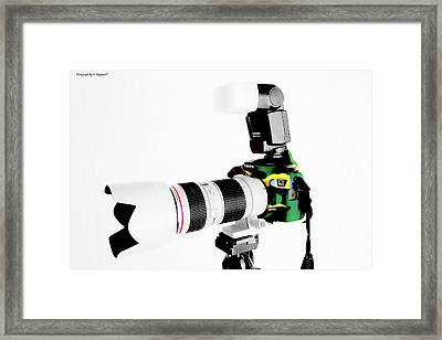Canon 70d 02 Framed Print by Kevin Chippindall