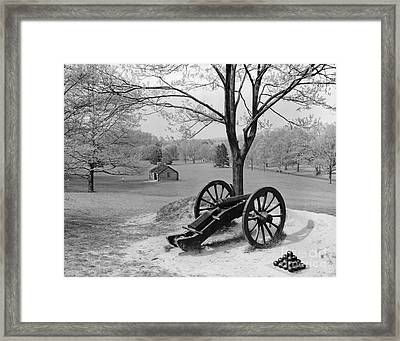 Canon At Valley Forge Framed Print by H. Armstrong Roberts/ClassicStock