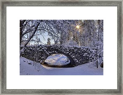 Cannon Hill Park Winter Framed Print