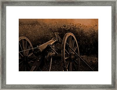 Canon Framed Print by Martin Morehead