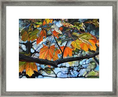 Canopy Of Love Framed Print