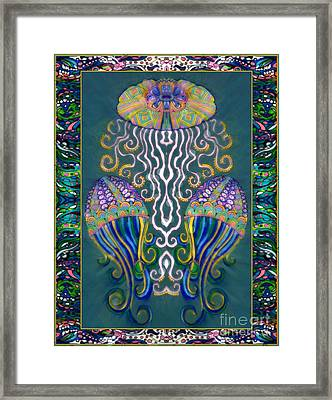 Canopy Under The Sea Framed Print
