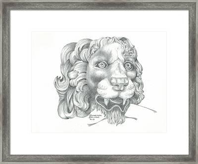 Canova Framed Print by Sharon Blanchard