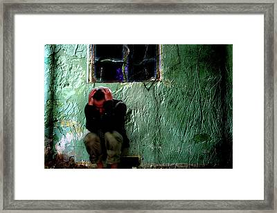 Can't Escape The Madness Framed Print by Gray  Artus