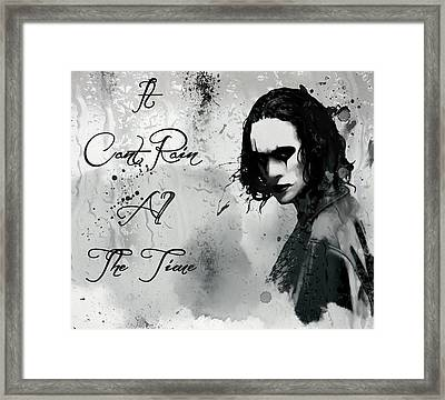 Can't Rain All The Time Framed Print