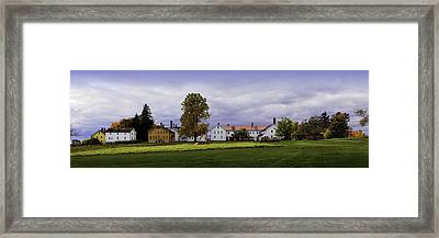Canterbury Shaker Village Nh Framed Print by Betty Denise
