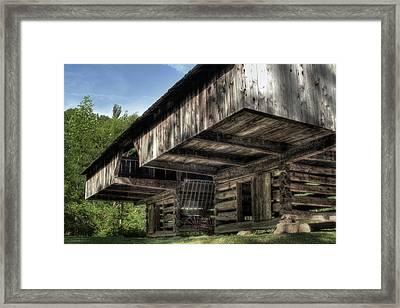 Cantilever Barn 2 Framed Print