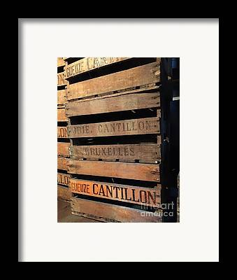 Crate Framed Prints
