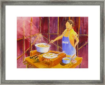 Cantina Kitchen Framed Print by Buster Dight