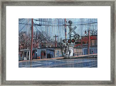 Canton At Sawyer Framed Print by Donald Maier