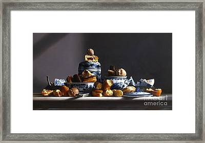 Canton With Donuts Framed Print by Larry Preston