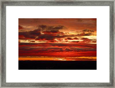 Canvas By God Framed Print