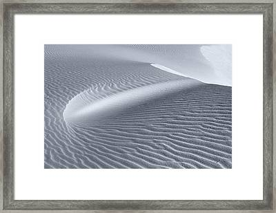 Canvas Of The Winds Framed Print by Sandra Bronstein