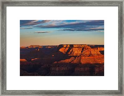 Canyon Awakening  Framed Print