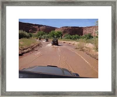 Canyon De Chelly 117 Framed Print by Elbert Shackelford