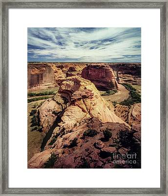 90146 Canyon De Chelly Framed Print