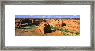 Canyon De Chelly National Monument Framed Print by Panoramic Images
