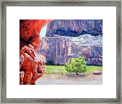 Canyon De Chelly Framed Print