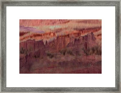Canyon Dreaming Framed Print