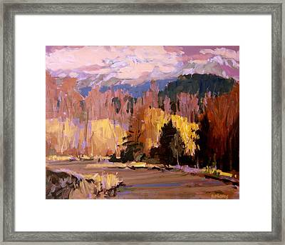 Canyon Drive Framed Print by Brian Simons