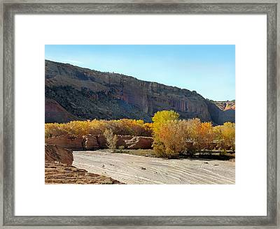 Canyon Highway Framed Print