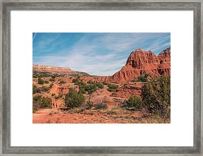 Canyon Hike Framed Print