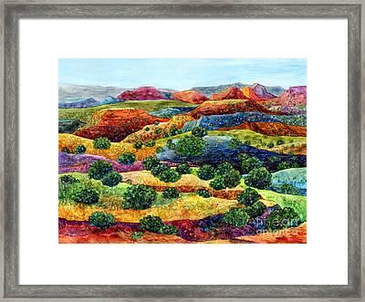 Canyon Impressions Framed Print by Hailey E Herrera