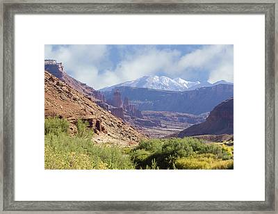Canyon In Colorado Framed Print