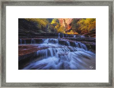 Canyon Paradise Framed Print