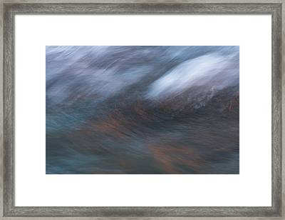 Framed Print featuring the photograph Canyon Reflections by Deborah Hughes