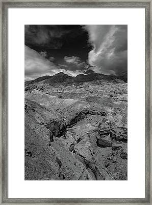 Canyon Relief Framed Print