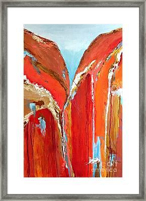 Canyon Reverie Framed Print